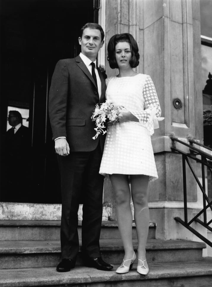 1960s Bride and Groom