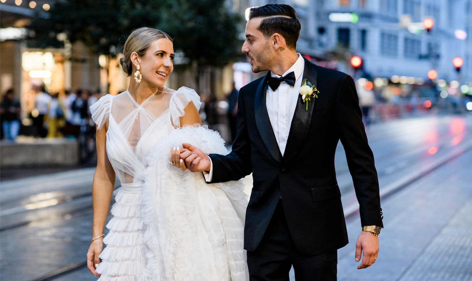 A New York City Style Wedding In Sydney's CBD